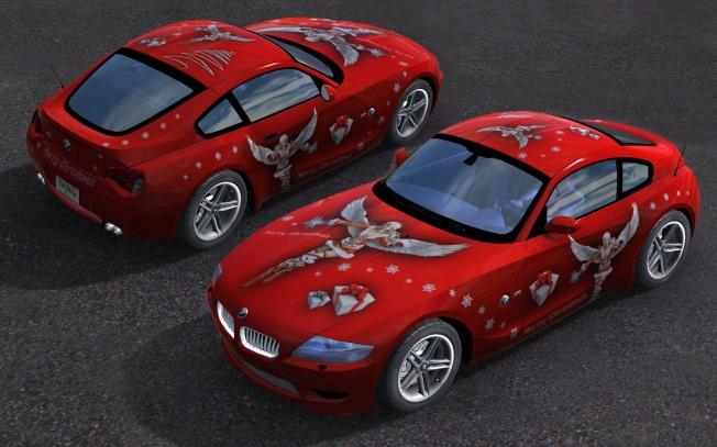 TManiacs Weihnachtsskin (BMW Z4 Coupe)